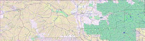 blanco county map bridgehunter blanco county colorado