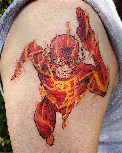 flash tattoo use inked wednesday 53 the x files the flash more nerdist