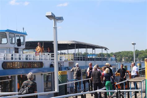 berlin to potsdam by boat wannsee to potsdam boat cruise guaranteed seating
