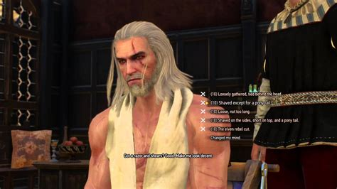beard and hairstyles dlc witcher 3 new beards and hairstyles hair