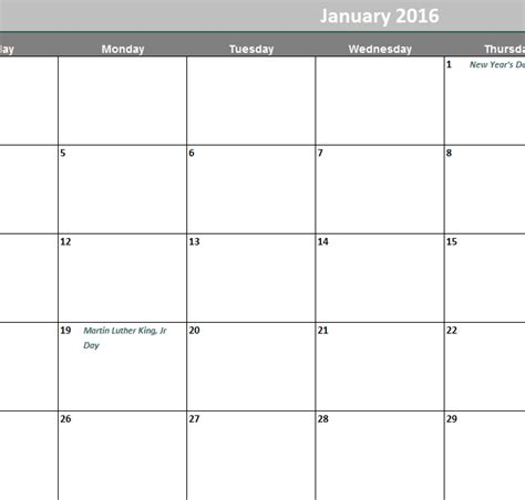2015 12 month calendar template search results
