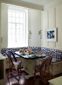 l shaped banquette contemporary kitchen