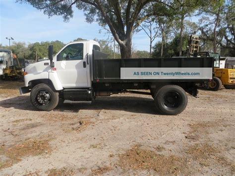 2006 gmc c6500 dump truck