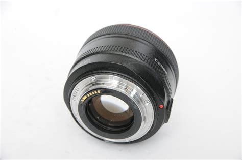 Canon Ef 50mm F1 2 L Usm canon ef 50mm f1 2 l usm with es 78 and box one of
