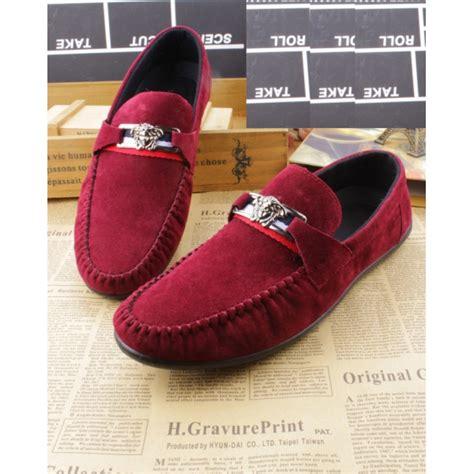 Sepatu Slip On Versace D5887 jual sepatu slip on pria versace