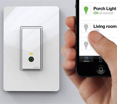 smartphone light switch wi fi light switch by wemo 187 gadget flow