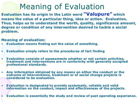 what is the meaning of template what is the definition of the word quot evaluate