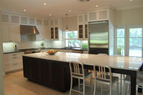 kitchen island tables kitchen island table on modern kitchen island