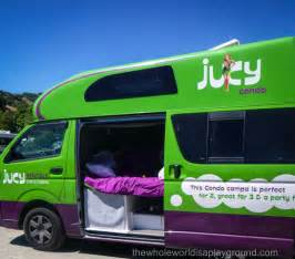 Jucy Car Hire Nz Jucy Touring New Zealand In A Cer The Whole