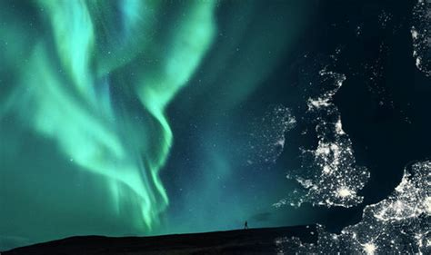 Solar Northern Lights Tonight Northern Lights In The Uk Tonight How And Where To