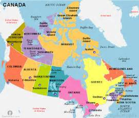 Canada State Map by Pics Photos Usa And Canada Map With Us States Canadian