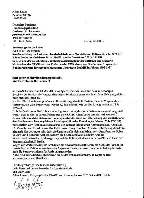 Lebenslauf In Aufsatzform Fur Die Bundespolizei Offener Brief An Den N E U E N Deutschen Bundestag Und Seinen Pr 196 Sidenten Aufarbeitung Der