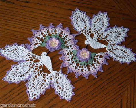 Handmade Doily - crochet doilies hummingbirds and doilies on