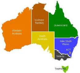 Map Of Australian States by Pics Photos Map Of Australia Showing States And Territories