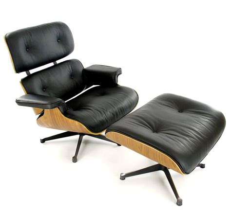 eames style lounge chair eames style lounge chair and footstool by i retro