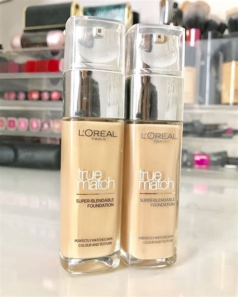 Harga L Oreal True Match Foundation l oreal true match foundation review glossaholic