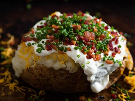 Baked Potatoes by A Fully Loaded Guide To The Ultimate Baked Potato