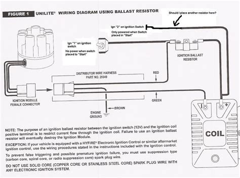 mallory unilite wiring diagram 3 wire ignition coil wiring diagram elsavadorla