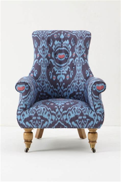 eclectic armchair astrid chair nile ikat eclectic armchairs and accent chairs by anthropologie