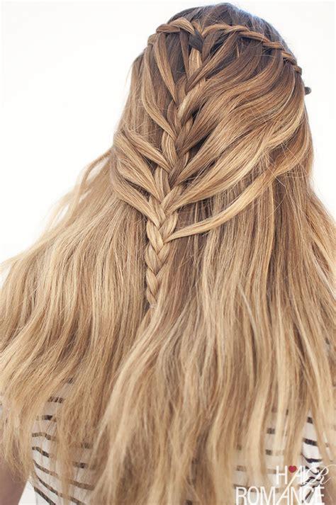 doctor locks on how to waterfall braid waterfall mermaid braid tutorial for long hair hair romance