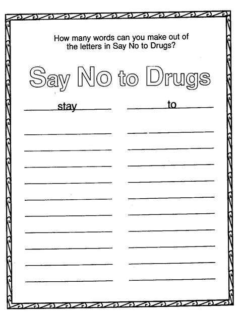 printable coloring pages for red ribbon week red ribbon week coloring pages free only coloring pages