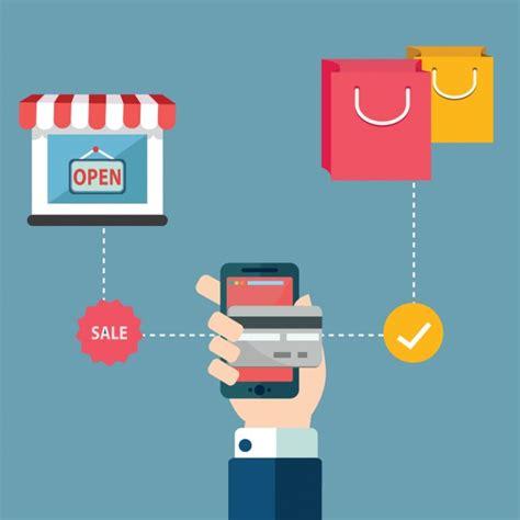 design background online online shoppin background design vector free download