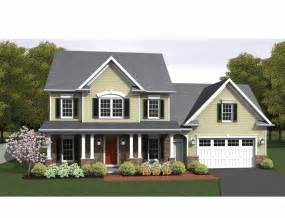 three bedroom colonial home house plan clairmont floor