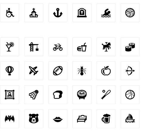 imagenes simbolos urbanos set de iconos especiales para mapas y ubicaciones jhon