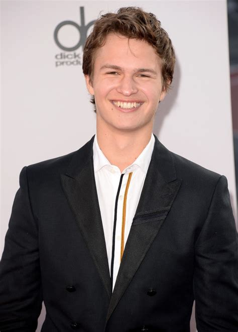 Ansel Elgort Embraces Insane Proportions for 2014 American Music Awards Ensemble