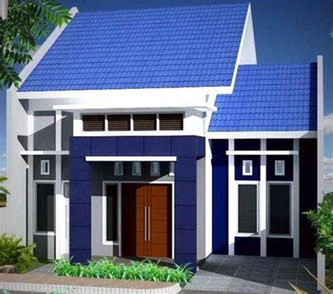 kombinasi warna biru  cat rumah terbaik