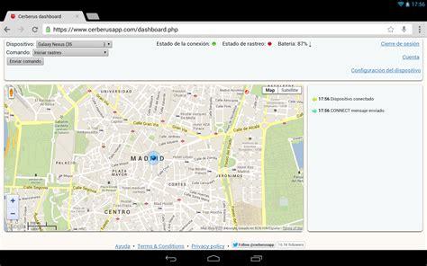 cerberus android cerberus anti robo aplicaciones de android en play