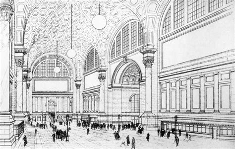 Grand Central Station Floor Plan by Gallery Of Ad Classics Pennsylvania Station Mckim Mead