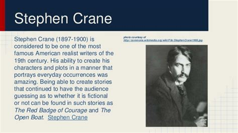 the open boat stephen crane setting realism existentialism