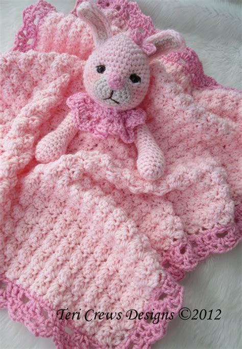 knitted bunny blanket pattern crochet pattern bunny huggy blanket by teri crews instant