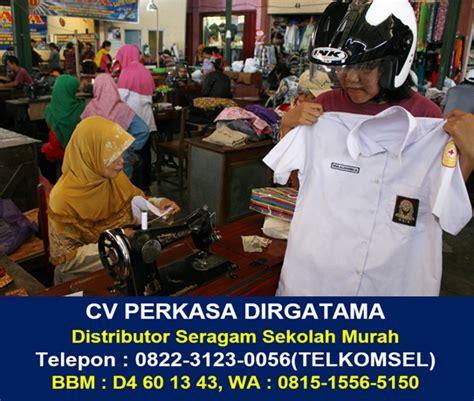 Grosir Pakaian Seragam Sekolah distributor pakaian pramuka bandar lung 0822 3123 0056 telkomsel grosir baju seragam