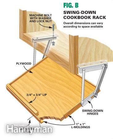 under cabinet swing down hinges kitchen storage cabinet on pinterest pocket hole