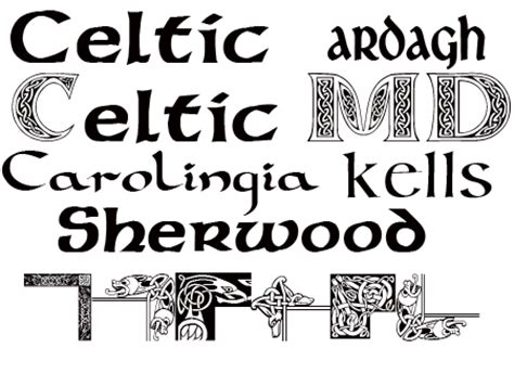 printable irish font free celtic fonts literary spring designs