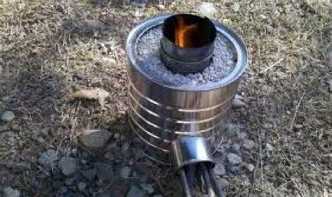 Pop Jet Shower Wasser Biru rocket stove construction