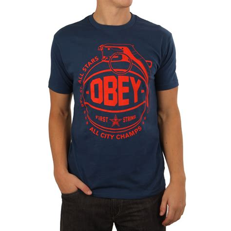 obey clothing can t jump t shirt evo outlet