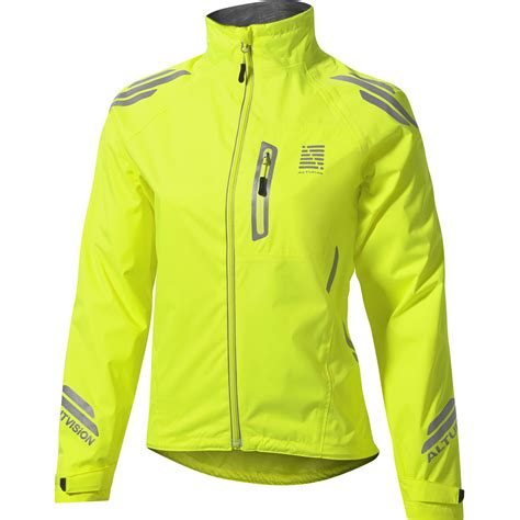 waterproof cycling wiggle altura women s night vision waterproof jacket