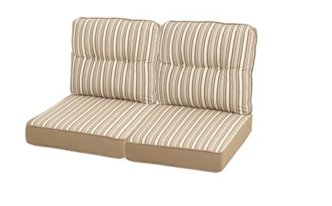 Replace Cushions In by Mayfield Replacement Loveseat Cushion Set