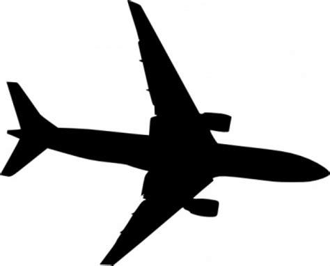 aereo clipart aereo silhouet clip scaricare vettori gratis