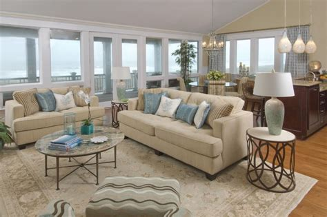 Beach House Living Rooms | beach house living room traditional living room