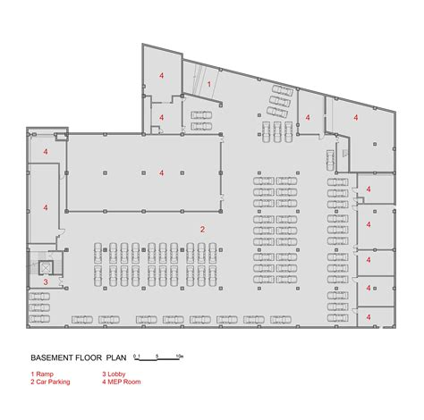eaton center floor plan gallery of san wayao community sports center cswadi 17