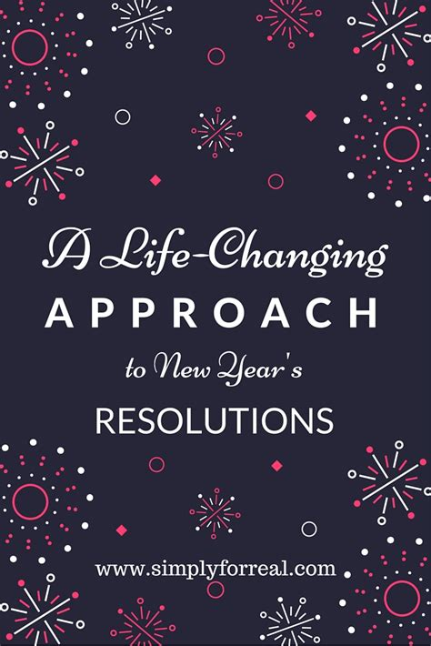 10 New Year S Resolutions by A Changing Approach To New Year S Resolutions