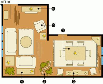 room arrangements  awkward spaces midwest living