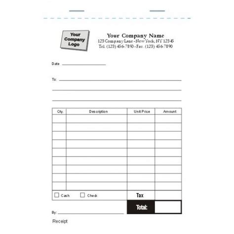 Arco 60 00 Receipt Template by Invoice Forms Standard Forms