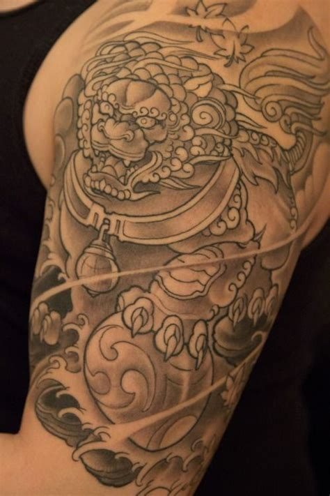 tattoo paper vancouver 121 best images about foo dog tattoo on pinterest foo