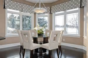 Dining Room Window Valances Chic Valances Window Treatments In Dining Room