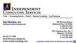 independent consultant business cards graphic design web design logo design services silicon